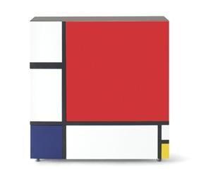Shiro Kuramata - 2009       Homage to Mondrian Armari amb portes i calaixos inspirat per les obres més grafiques de Piet Mondrian.