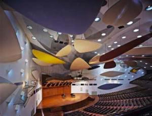 Interior Aula Magna U.C.V.