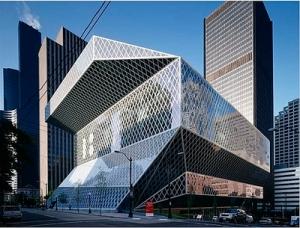 Biblioteca en Seattle. Rem Koolhass/Cecil Balmond